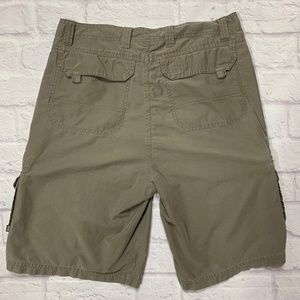 REI Mens Cargo Shorts Size 34 Flat Front Hiking